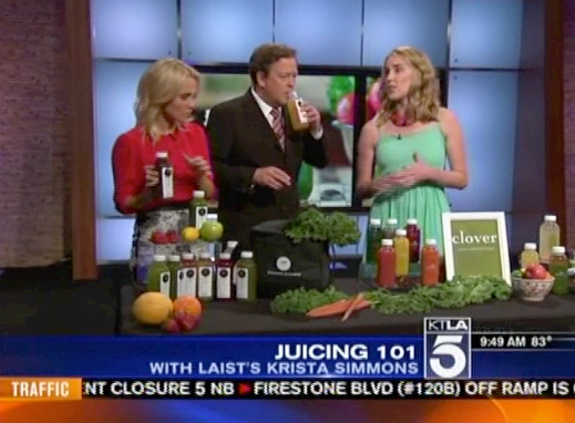 Juicing 101 with LAist's Krista Simmons